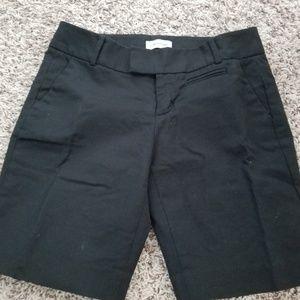Women's Calvin Klein Black Dress Shorts size 2